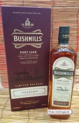 BUSHMILLS STREAMSHIP Port Cask